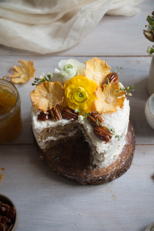 hummingbird cake with pineapple lime jam-1-15