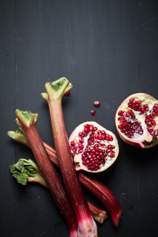 rose pomegranate roasted rhubarb-1-8