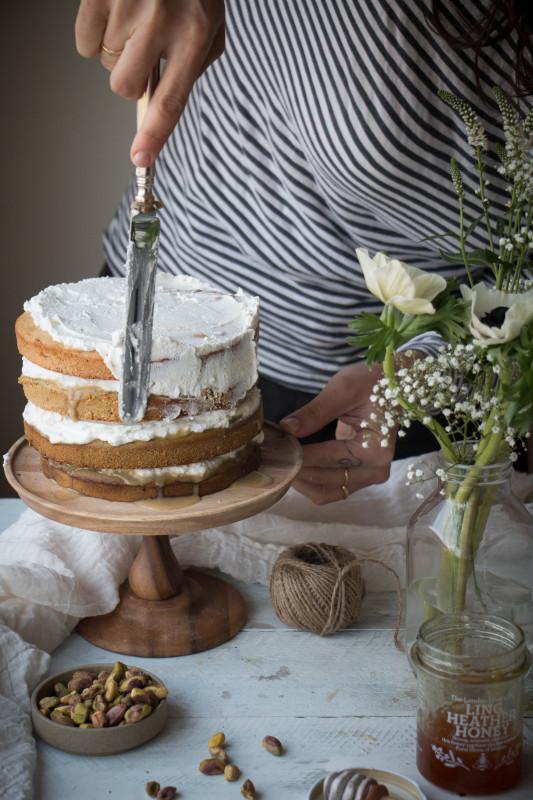 Vegan Matcha Tres Leches Cake Blogger Collaboration