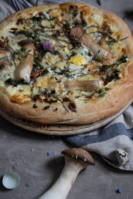 garlic mushroom pizza-1-4