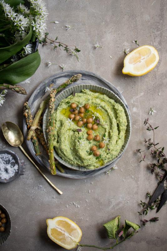 wild garlic asparagus hummus-1-13