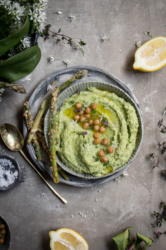 wild garlic asparagus hummus-1-6