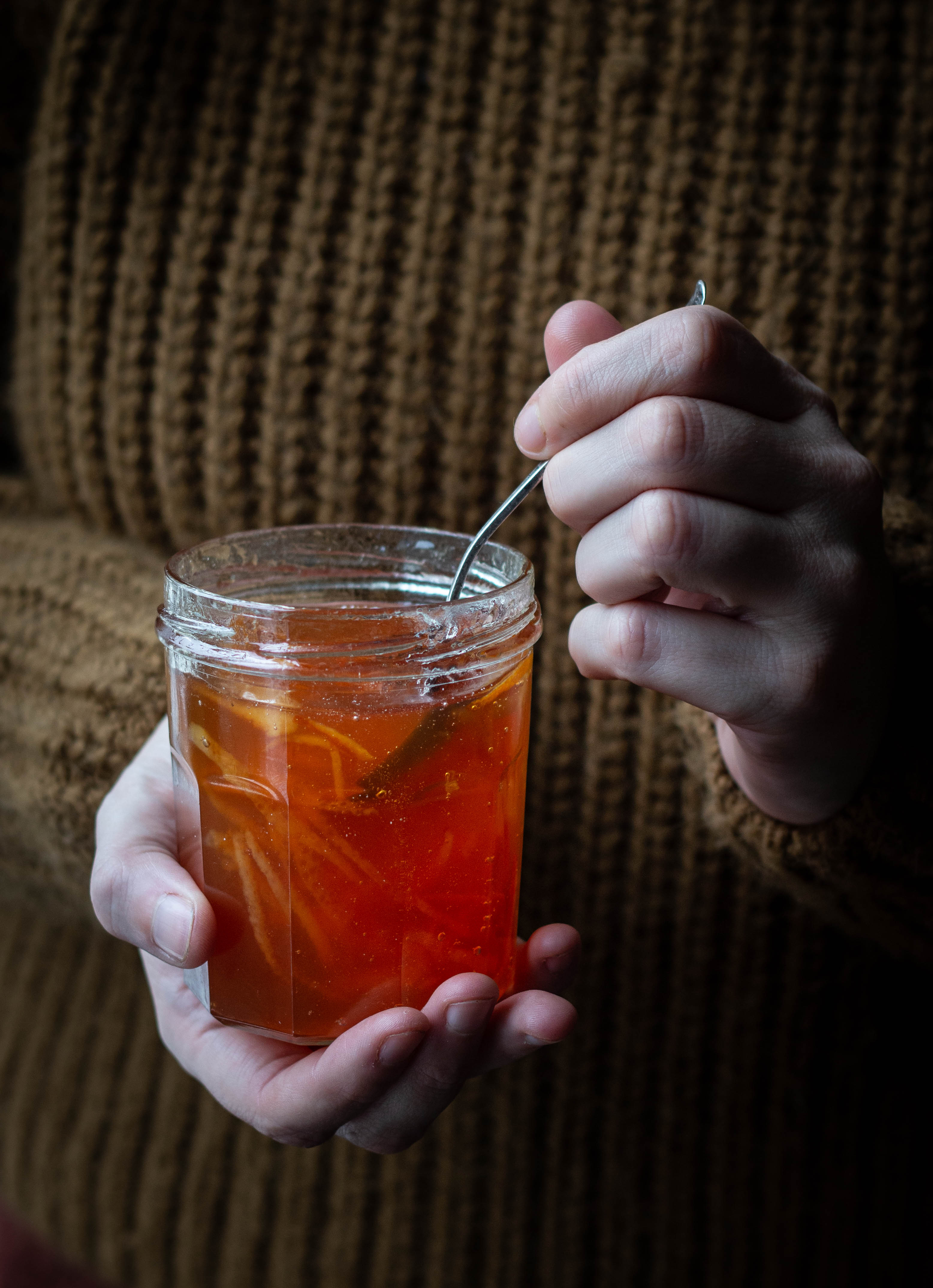 blood orange cardamom marmalade