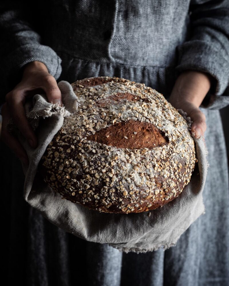 milk honey oat bread
