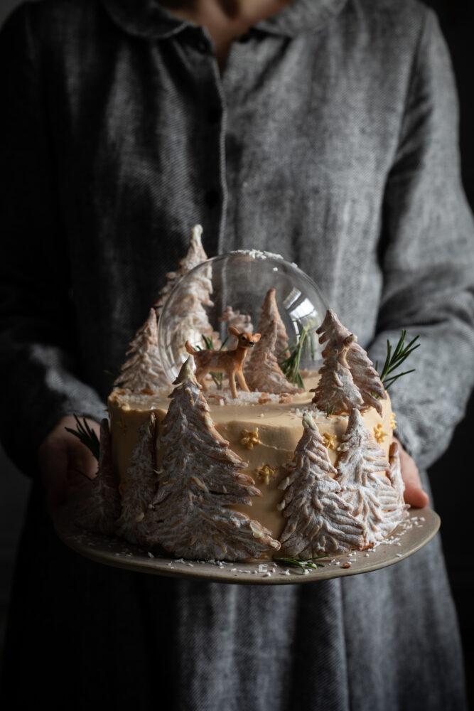 dulce de leche ginger cake