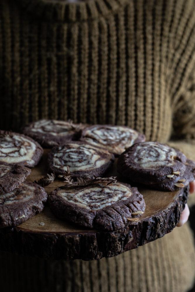 log slice cookies