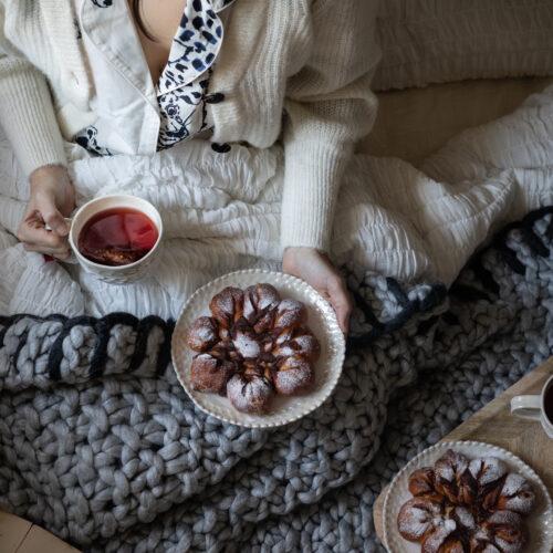 praline truffle buns