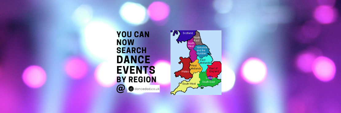 dance events by region