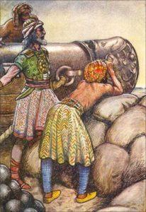Battle of Panipat between Babur and Ibrahin Lodhi