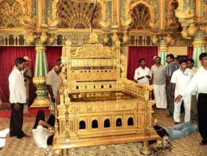 Padmanabswamy Golden Throne