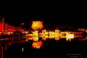 Padmanabhaswamy Temple Night View