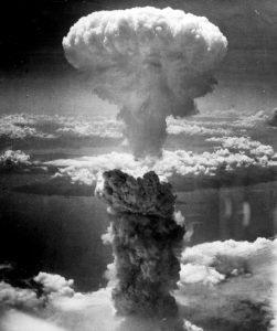 World War II atomic bomb in nagasaki