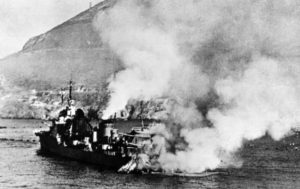 The British Attacked The French Fleet