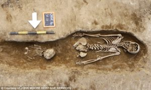 Archaeologists excavating a church site in Oxford have found skeletons of nuns who died in disgrace after being accused of 'sex-crazed' behaviour. The skeleton of one lady was found face down, and researchers believe she may have been one of the infamous 'sinner nuns' who forced the nunnery to shut down in 1524.