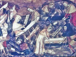 Black Death plague pit