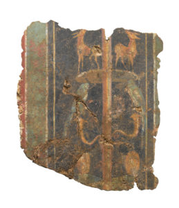 Earliest surviving fresco from Roman Britain