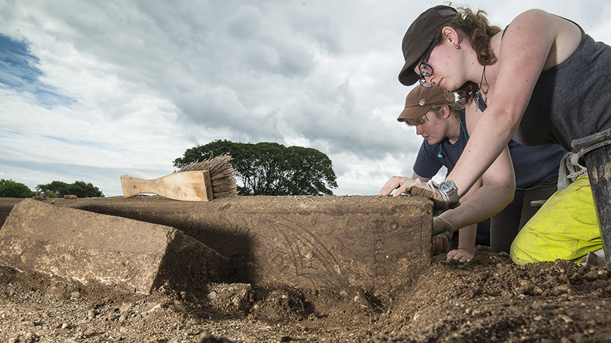 Medieval priest uncovered at Thornton Abbey in Lincolnshire England died 700 years ago