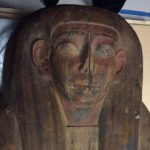 Hieroglyphs covering the coffin indicates the remains belong to Mer-Neith-it-es, who is believed to have lived in 600 BC