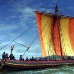 The Sea Stallion from Glendalough, a reconstructed Viking ship