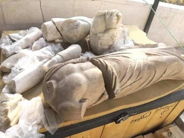 Rare Roman Statues discovered in Jerash, Jordan.
