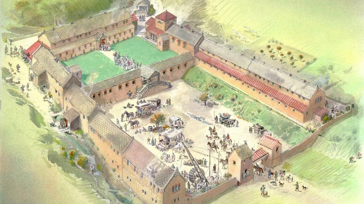 1,700 Year-Roman Villa Excavator Uncover in Lod Israel