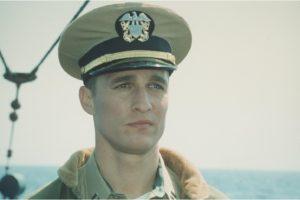 Actor Matthew McConaughey in 'U-571'.