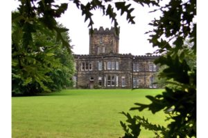 Dobroyd Castle, West Yorkshire. I'll only marry you if you promise to build me a castle, the weaver Ruth Stansfield is believed to have told John Fielden in the latter half of the 19th century.