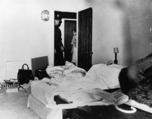 The room where Marilyn Monroe died.