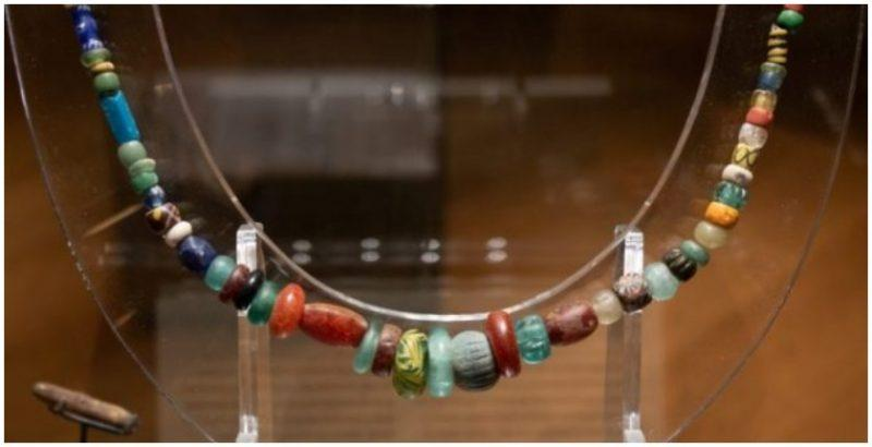 The Ornate 1,000-Year-Old Viking Necklace Of A Pagan 'Sorceress' goes on display