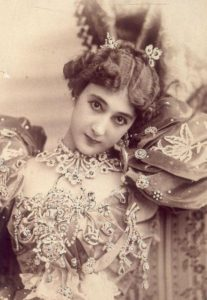 "Carolina ""La Belle"" Otero, Spanish actress, dancer and courtesan, circa 1890"