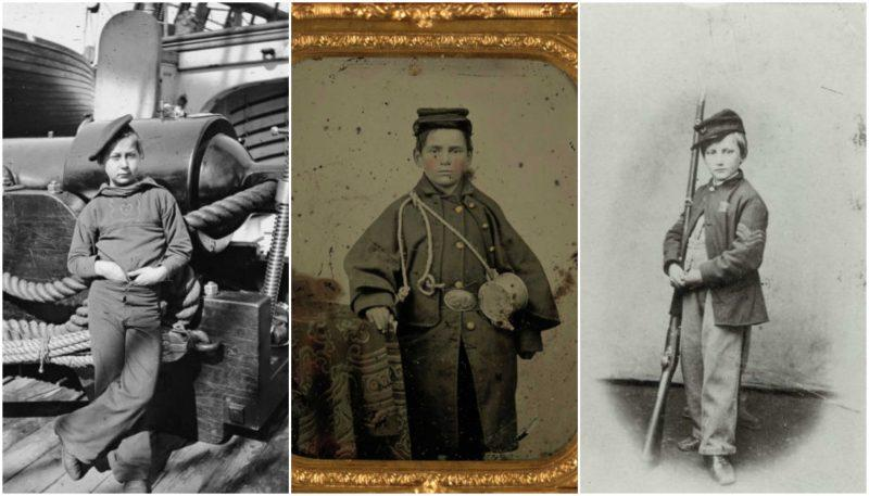 Child soldiers of the American Civil War