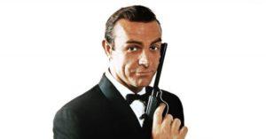 Sean Connery as 007.