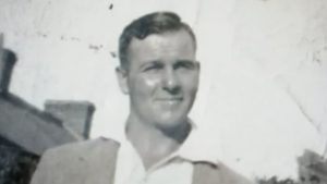 A 1937 photograph of secret service spy James Charles Bond