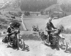 Adeline and Augusta Van Buren – first women to ride across the USA by motorcycle