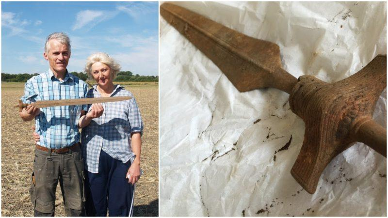 Well-Preserved 3,000-Year-Old Pre-Viking Sword Unearthed in Denmark is Still Sharp