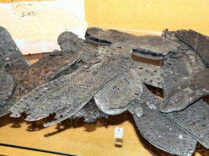 Soles of of military boots – caligulae.