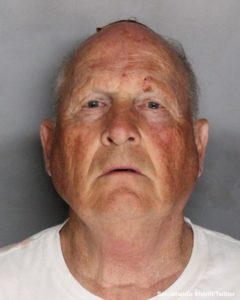 Joseph James DeAngelo, 72, in a booking photo provided by the Sacramento County Sheriff's Department.