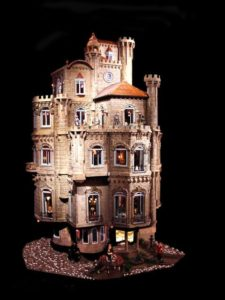 The Astolat Dollhouse is the most expensive miniature structure in the world.