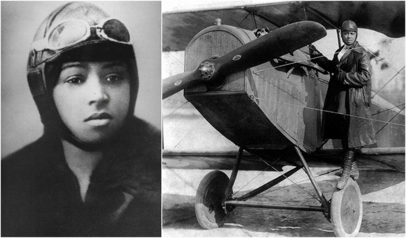 Bessie Coleman, The First Female African American Pilot