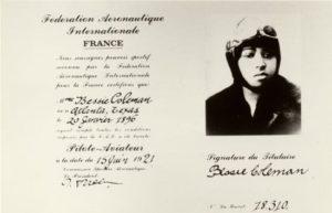 Coleman's aviation license