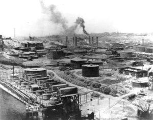 Standard Oil Refinery No. 1 in Cleveland, Ohio, 1897