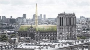 Notre Dame's new roof proposals include a greenhouse design