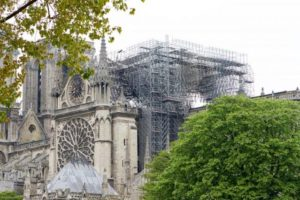 Notre-Dame after the fire Photo