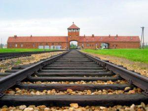 Auschwitz-Birkenau main track.