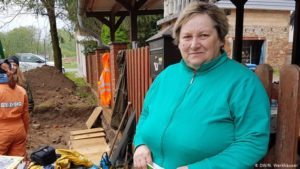 Jutta Höhn didn't expect to find human remains right next to her house