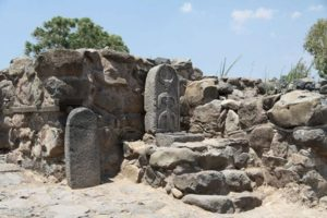 The newly found city gate is thought to be centuries older than this previously excavated gate at Bethsaida.