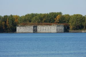 Fort Montgomery, also known as Fort Blunder.