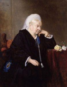 Queen Victoria aged 80, 1899.