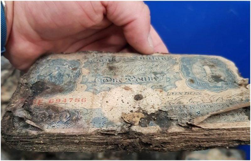WWII-era money worth $2.5M found under store that belonged to Winston Churchill's tailor