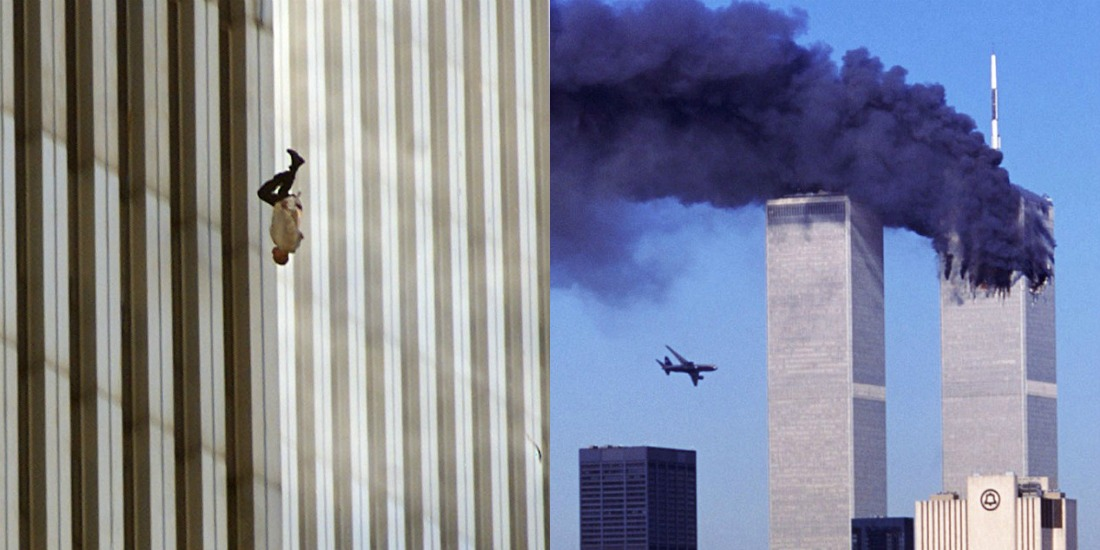 The Story Behind the Haunting 9/11 Photo of a Man Falling From the Twin Towers